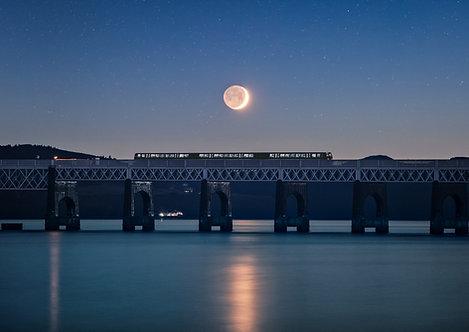Tay Bridge Moonscape