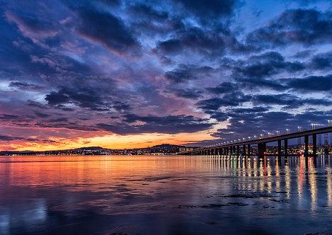 Dundee City Sunset