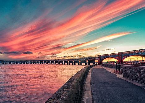Tay Rail Sunset