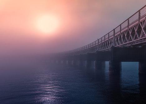 Foggy Tay Bridge