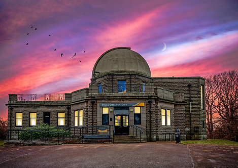 Mills Observatory Sunset