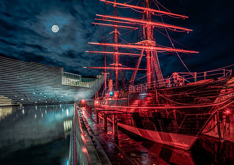RRS Discovery Moonscape
