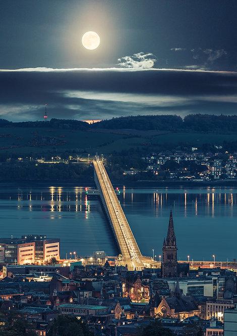Tay Bridge Moonrise
