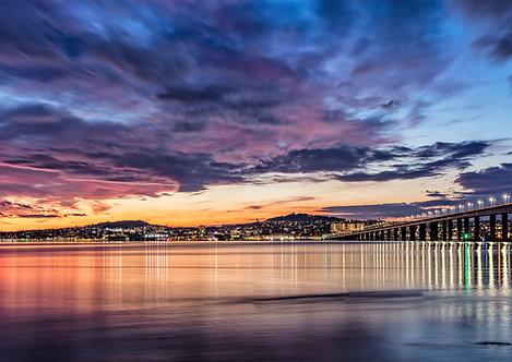Dundee City Sunset Sky