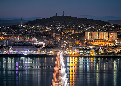 Dundee City Lights