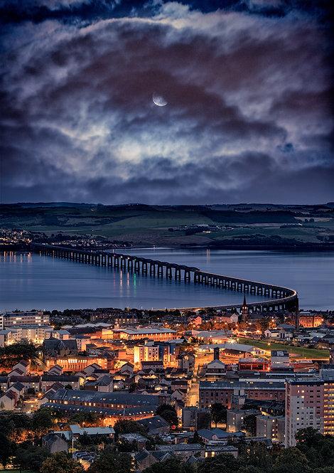 Dundee Tay Bridge Moonscape