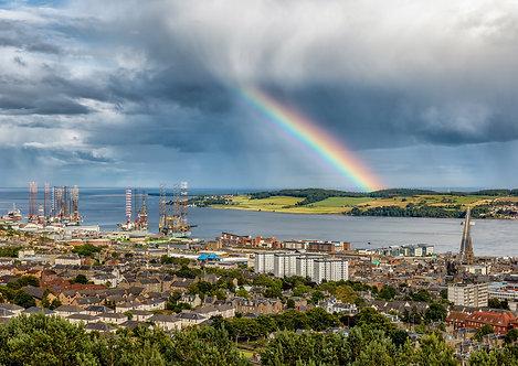 Rainbow over Dundee