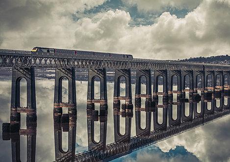 Tay Rail Bridge Reflections