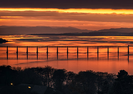 Tay Bridge Sunset