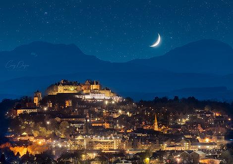 Stirling Castle Starry Sky
