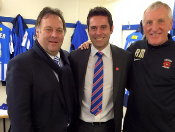 """TIME FOR CHANGE?"" URGES HARTLEPOOL UNITED CHAIRMAN WHO PRAISES ROYAL'S SUPPORT FOR THE CLUB"
