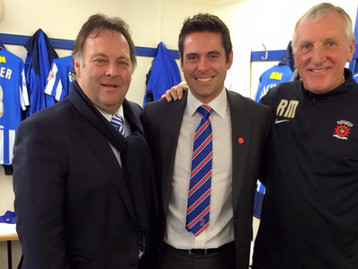 """""""TIME FOR CHANGE?"""" URGES HARTLEPOOL UNITED CHAIRMAN WHO PRAISES ROYAL'S SUPPORT FOR THE CLUB"""