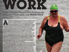 Team Work: Qualifying, training and preparing for an English Channel Relay Swim
