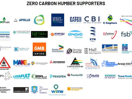 ZERO CARBON HUMBER UNVEILS RAFT OF SUPPORTERS IN SHOW OF UNIFIED STRENGTH TO MINISTER