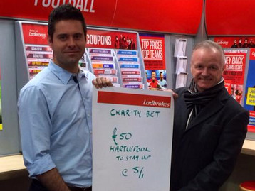 CHARITY SET TO BENEFIT FROM POOLS BET