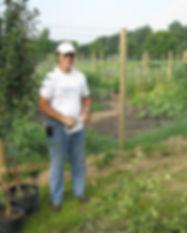 BV Food Forest Install Dan Halsey