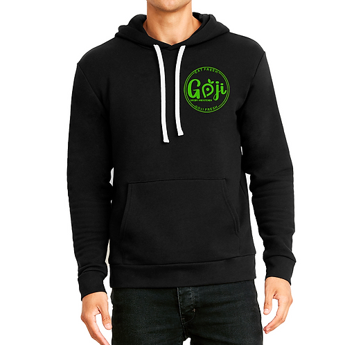 Hoodie with small logo