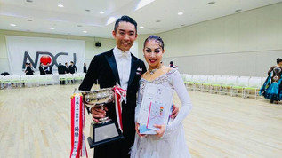 「統一全日本10ダンス選手権」優勝🥇