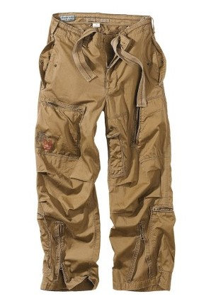 "Брюки Surplus Raw Vintage® ""SURPLUS INFANTRY CARGO"", Coyote"