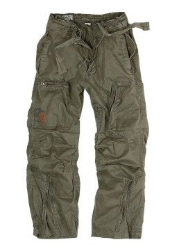 "Брюки Surplus Raw Vintage® ""SURPLUS INFANTRY CARGO"", Olive"
