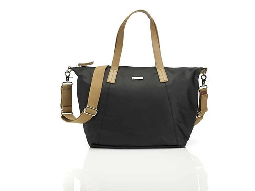 Storksak Noa Canvas Nappy Bag – Black