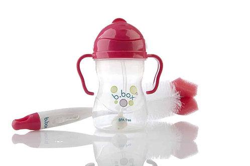 B.box Bottle Brush + Teat Cleaner Berry