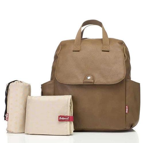 Babymel Robyn Backpack Nappy Bag Tan