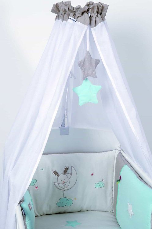 Candide Happy Dreams Cot Drapes/Canopy Set(2PCS)