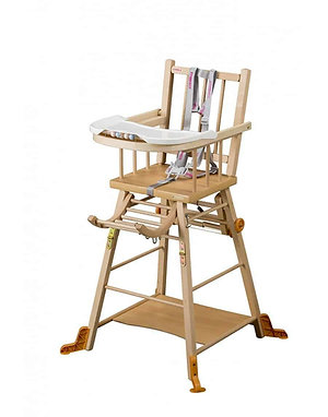 Combelle Marcel Transformable High Chair – Natural