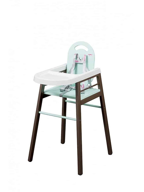 Combelle Lili High Chair – Choco/Mint