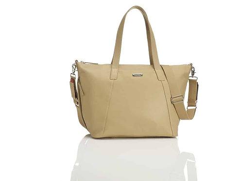 Storksak Noa Leather Nappy Bag – Tan