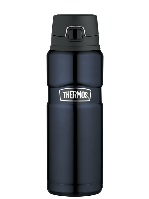 Thermos Stainless King Leak-Proof Drink Bottle 710ml Midnight Blue