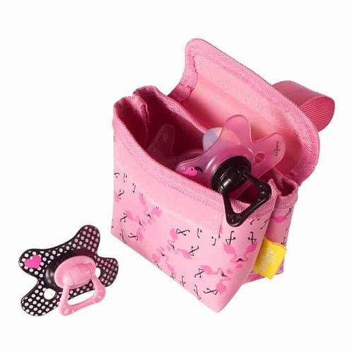 Difrax Pacifier bag – Flamingo