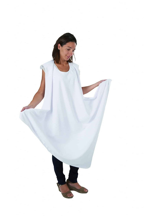 Candide Wraparound Bath Towel White
