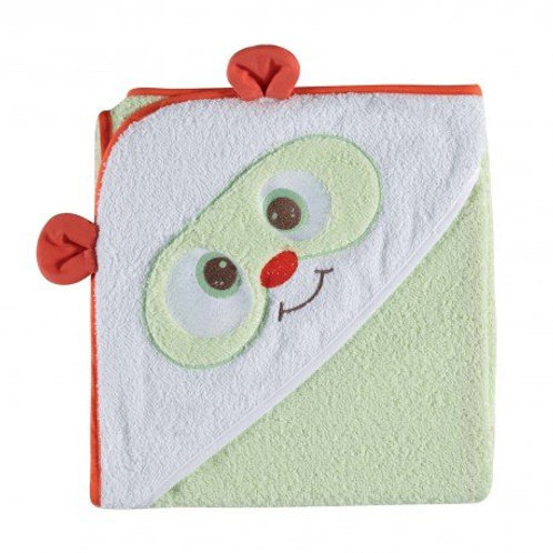 Tineo Cotton Hooded Towel Green