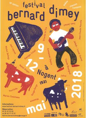 Festival Bernard Dimey 2018