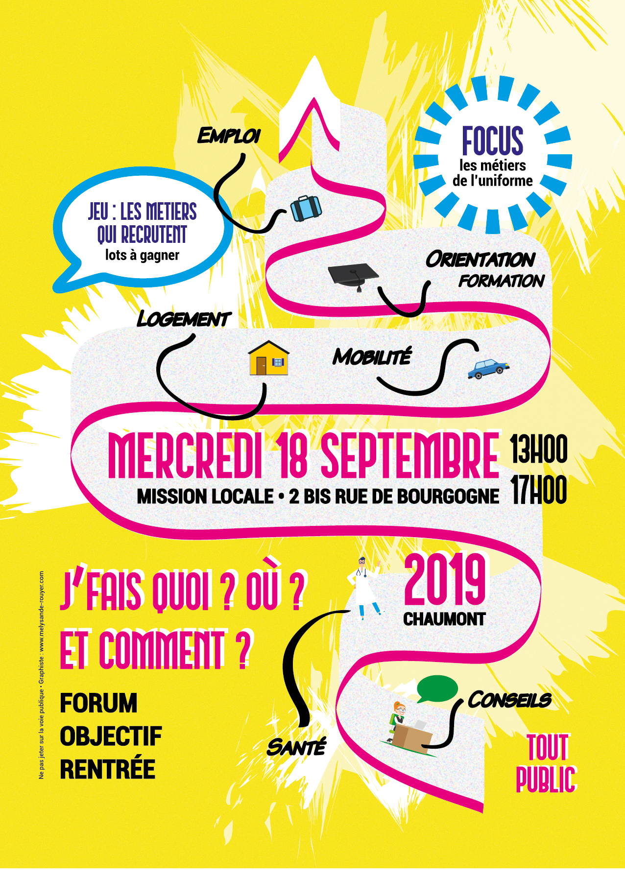 Flyer Mission locale Chaumont