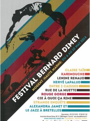 Festival Bernard Dimey 2014