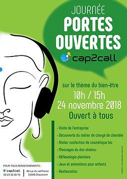 AFFICHE FINALE PORTES OUVERTES CAP2CALL-