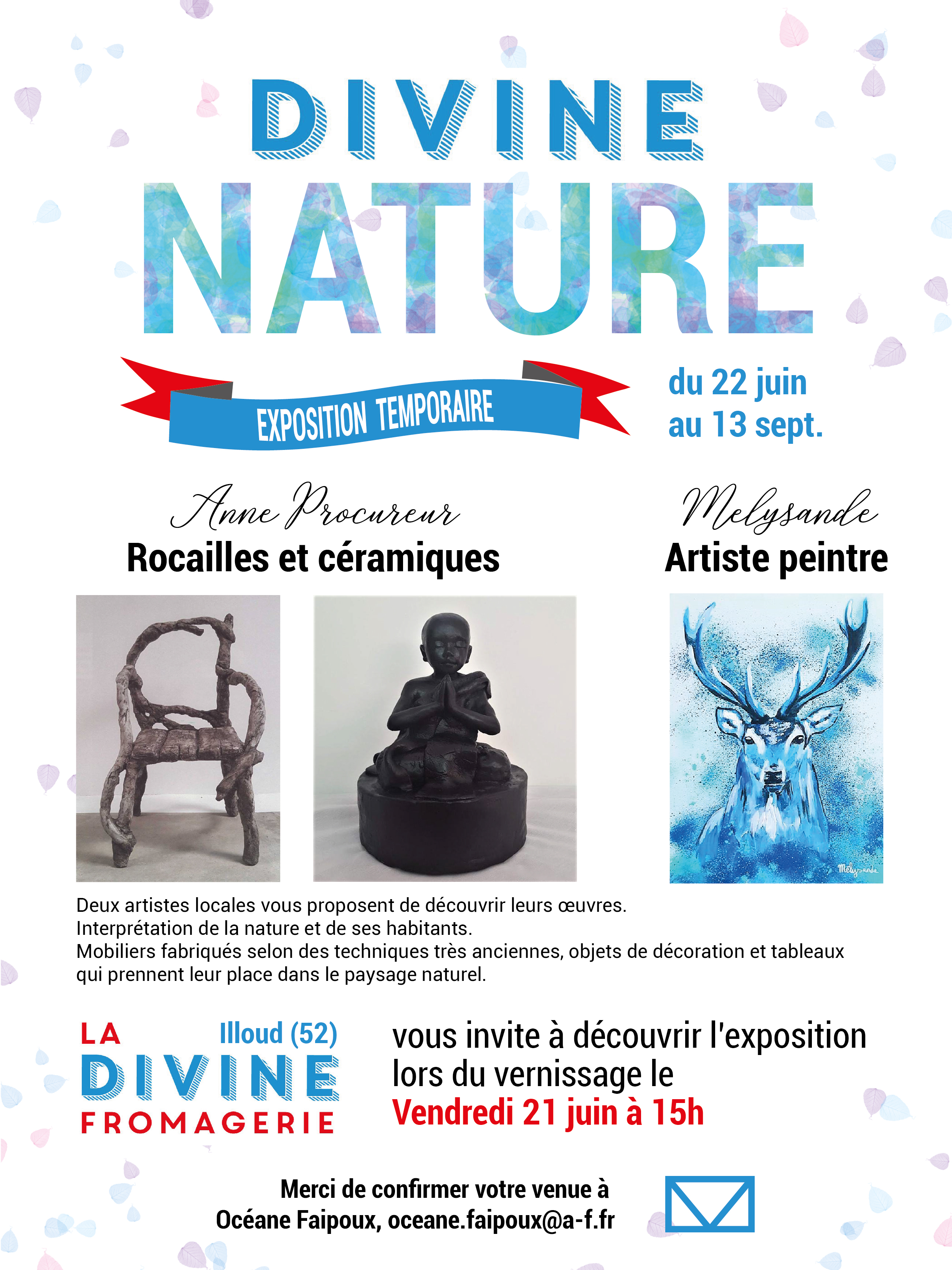 Exposition Divine fromagerie