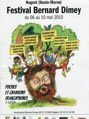 Festival Bernard Dimey 2010