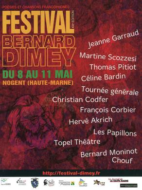 Festival Bernard Dimey 2013