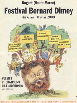 Festival Bernard Dimey 2008