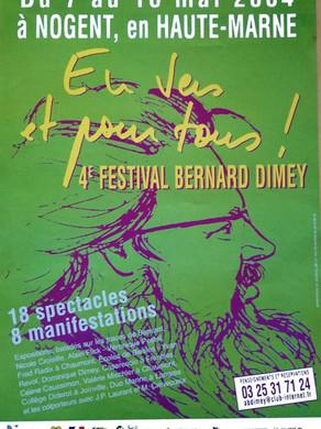 Festival Bernard Dimey 2004