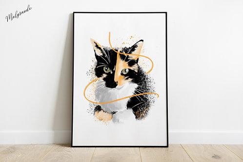 Le chat de Camille