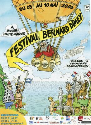 Festival Bernard Dimey 2006