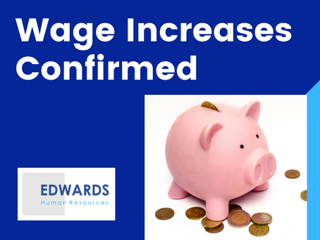 2020 Wage Increase Announced