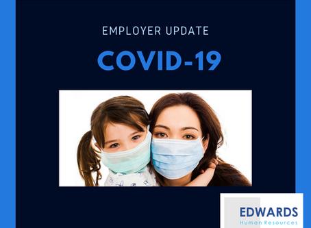 Employer HR Update - COVID-19