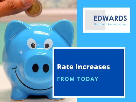 Award Rate Increases - Feb 2021