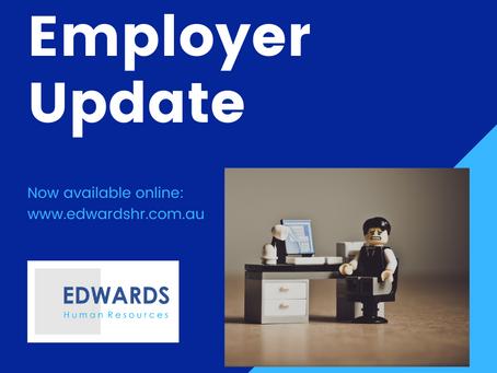 Employer Update - April